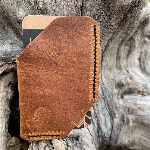 Front Pocket Wallet in Pecan