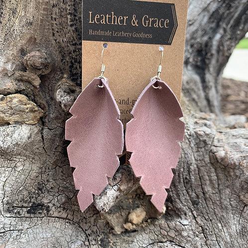 Leaves in Dusty Lavender