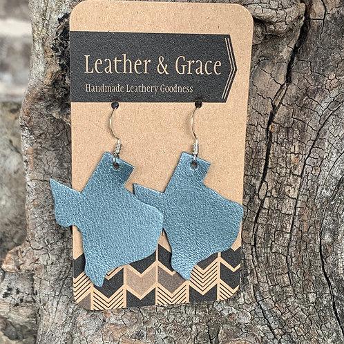 Grey Blue Texas