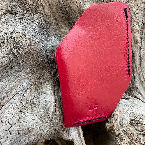 Front Pocket Wallet in Fuschia