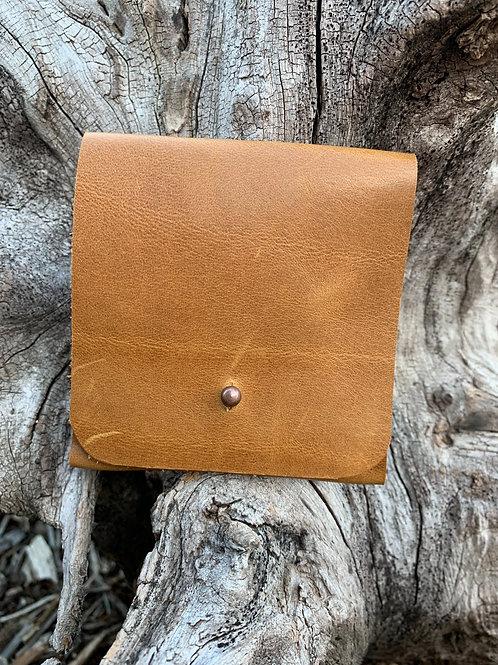 Cash & Card Wallet in Tan