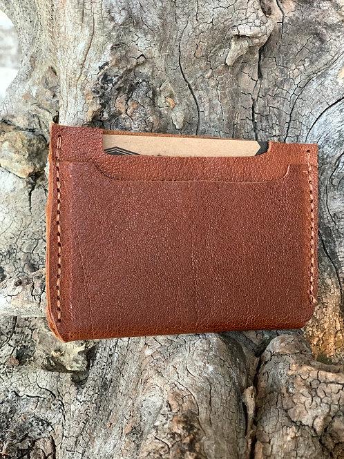 Pecan Double Pocket Wallet