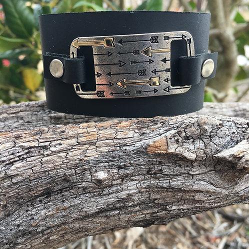 Silver/Gold Arrow Bracelet