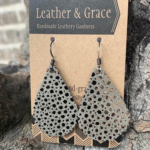 Grey/Metallic Mini Drops