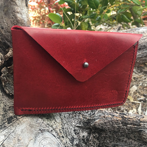 Simple Red Wallet