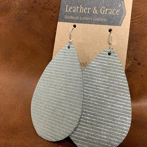 Silver Pinstripe Giant Drop