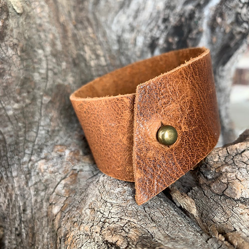 Simple Pecan Cuff
