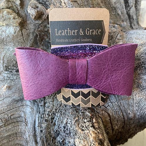 Giant Bow with Glitter Headband (elastic)