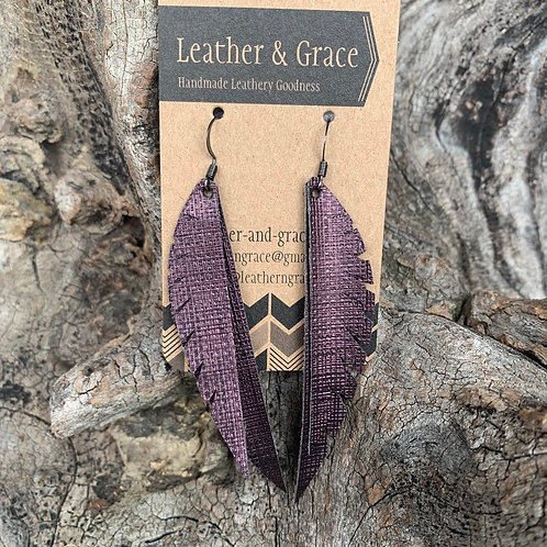 Grape Textured Double Angel Wings