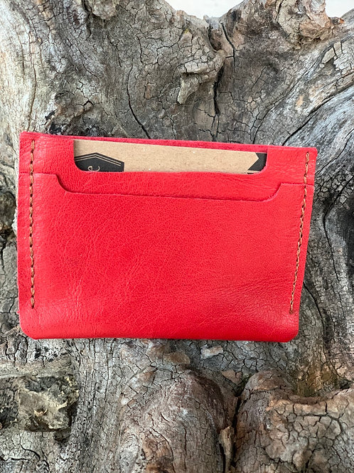 Red Double Pocket Wallet