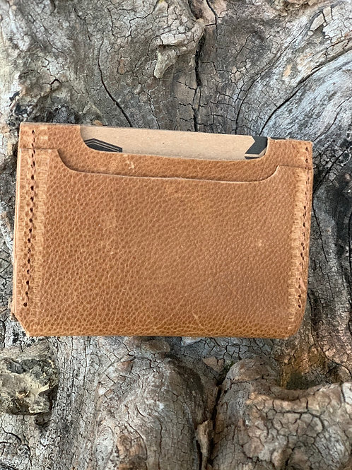 Tan Double Pocket Wallet