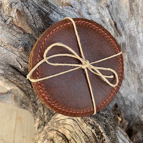 Chestnut Coasters-Set of 4