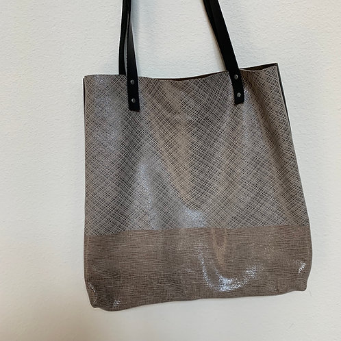 Mixed Medium Brown Tote