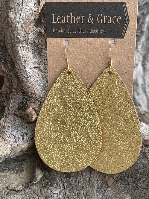 Metallic Gold Giant Drops