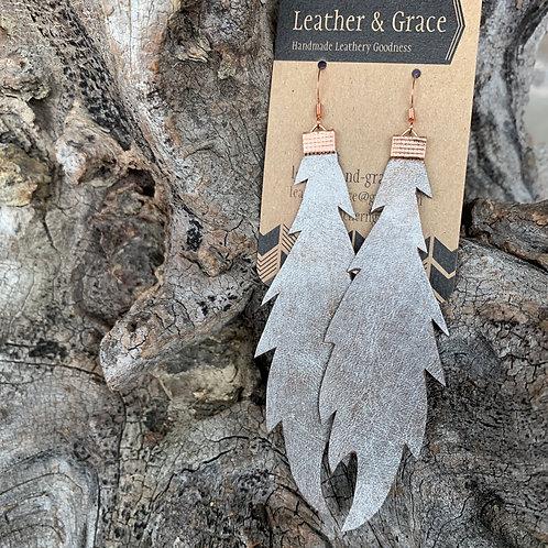 Metallic Extra Long Feathers