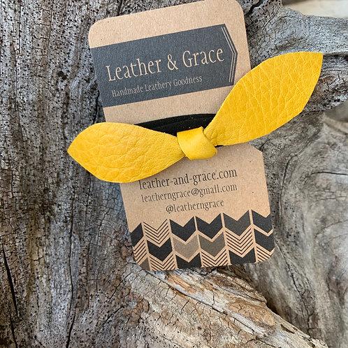 Sunshine Yellow Hair Tie