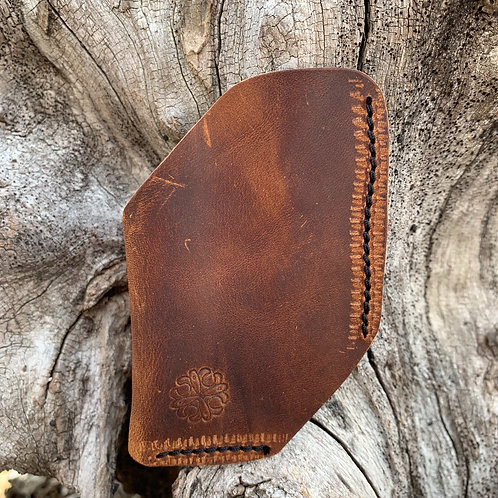 Front Pocket Wallet in Walnut