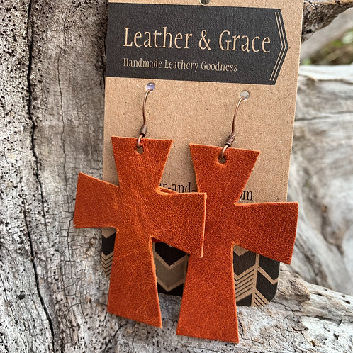 Crosses in Burnt Umber