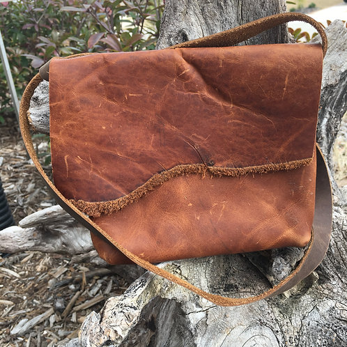 Small Cross-Body Pecan Bag