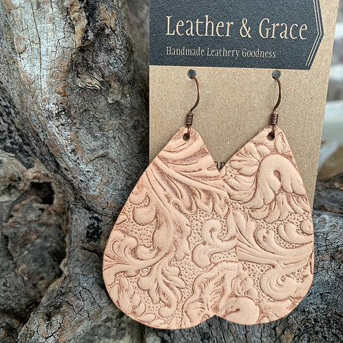 Natural Embossed Giant Drops
