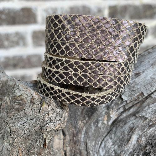 Snakeskin 6 Strand Bracelet