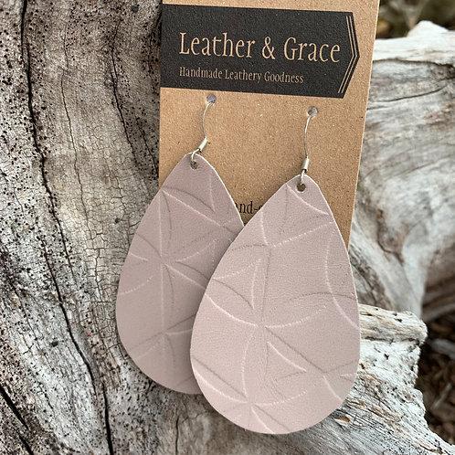 Giant Drops In Soft Lavender Imprint