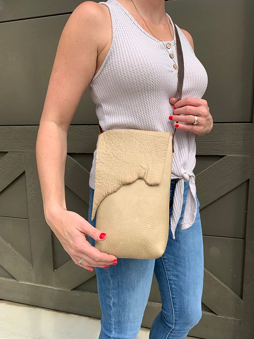 Cross-body Bag in Taupe