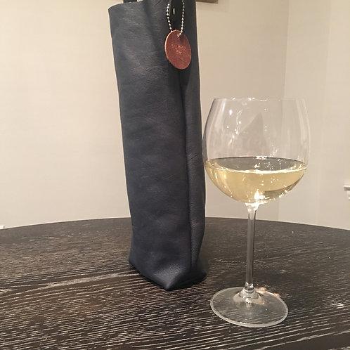 Wine Tote-Navy