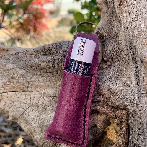 Chapstick Keychain in Purple