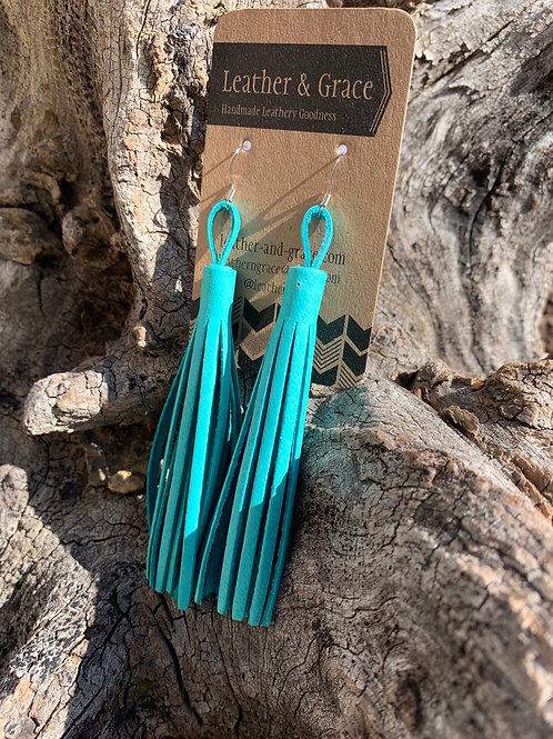 Tassels in Turquoise
