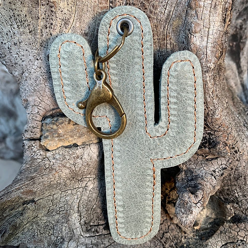 Cactus Keychain