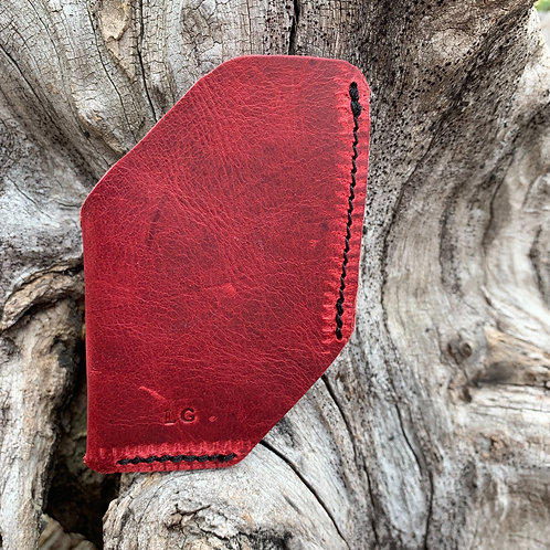 Front Pocket Wallet in Red