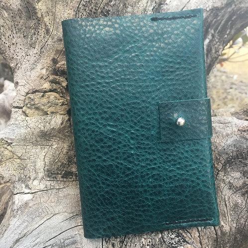 Passport Cover-Emerald Green