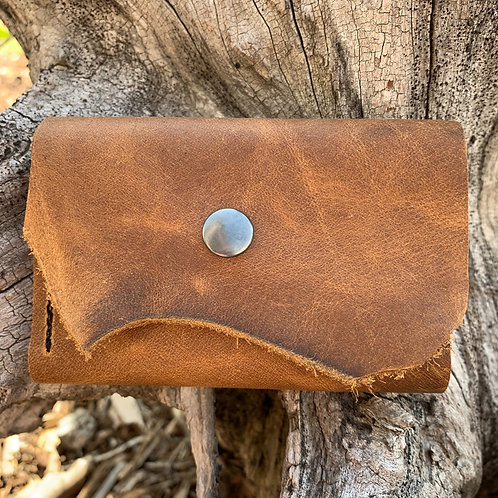 Two-fold Wallet in Pecan