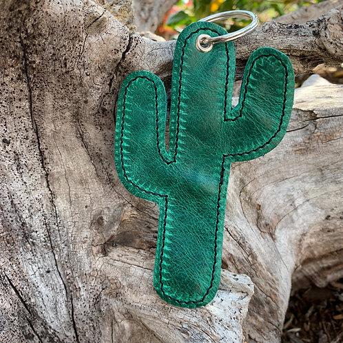 Large Cactus Keychain