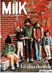Milk magazine ANG un bebè