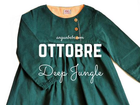 Un colore al mese | Ottobre Deep Jungle