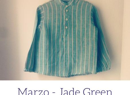 Un colore al mese   Jade Green