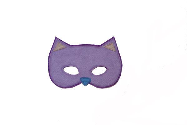 cartamodello maschera gatto gratis