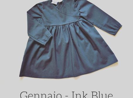 Un colore al mese   Gennaio Ink Blue