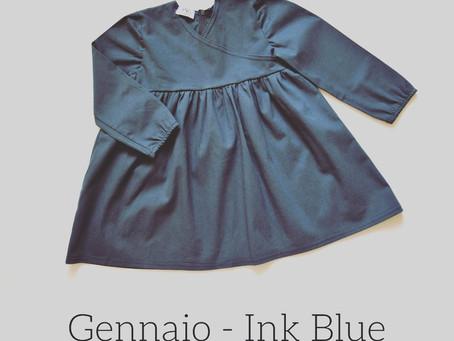 Un colore al mese | Gennaio Ink Blue