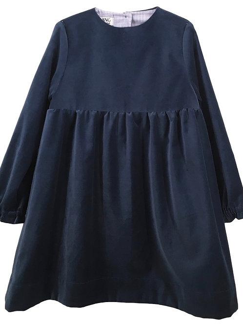 Francesca velluto blu