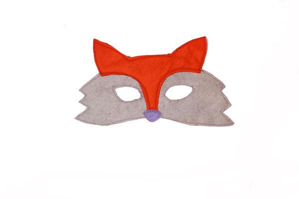 free pattern fox mask
