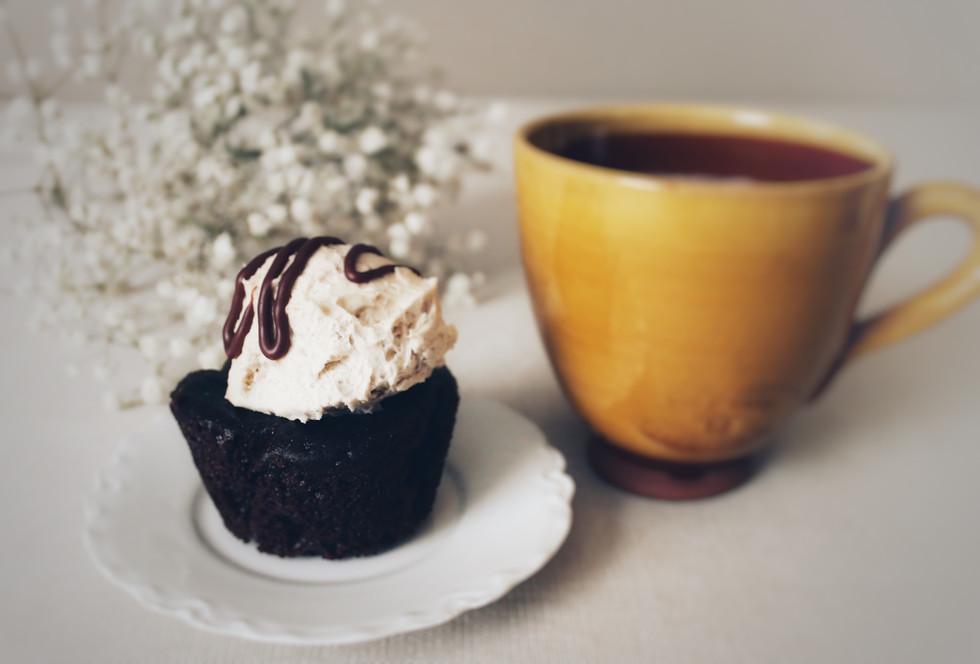 Mocha Cuppiecino Cupcake