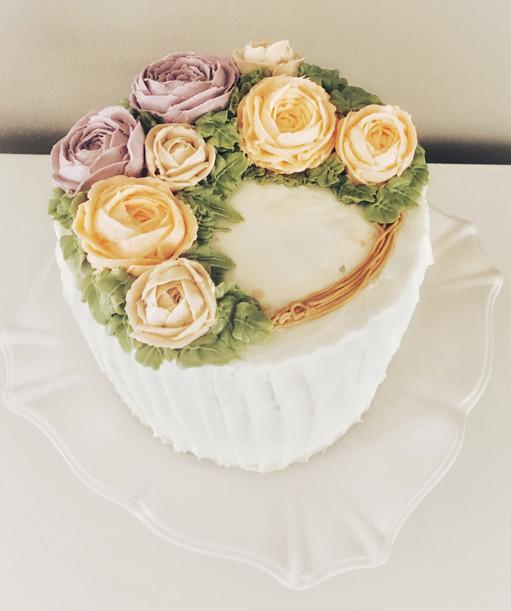Lemon & Vanilla Spring Cake