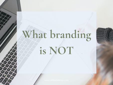 What branding is NOT