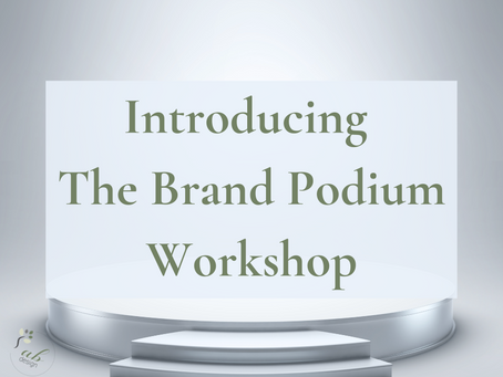 Introducing the Brand Podium Workshop