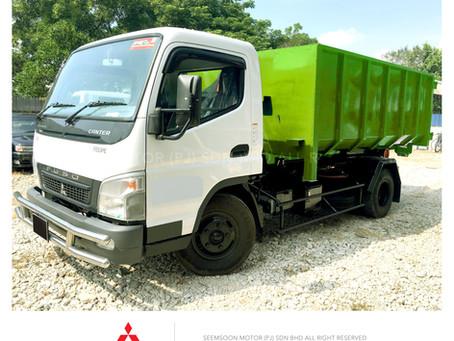 Mitsubishi Fuso FE85PE  Arm Roll RoRo Hook Lift Bdm7500kg