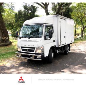Mitsubishi Fuso FE71PB Box van (Bonded) 4800kg