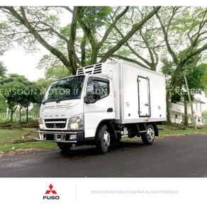 Mitsubishi Fuso FE71PB refrigerated truck 4800kg (Freezer/Chiller)